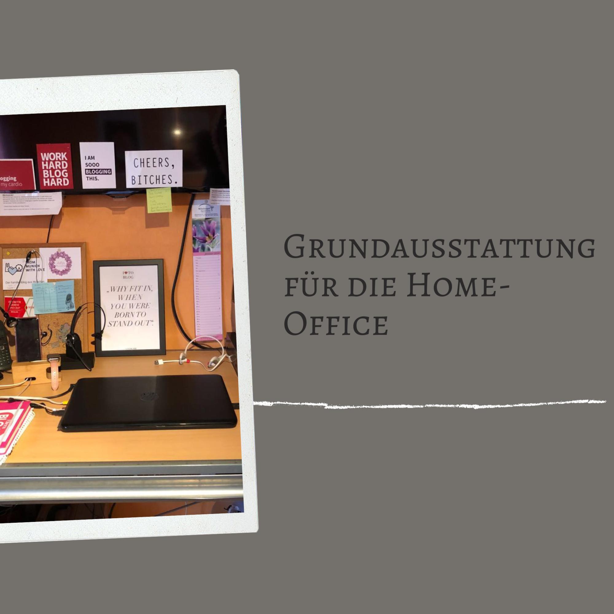 Grundausstattung; Equipment; Home Office; Ausstattung; Computer; Büro Ausstattung;